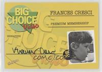 Frances Cresci