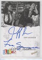 Jeff Anderson, Lisa Spoonauer