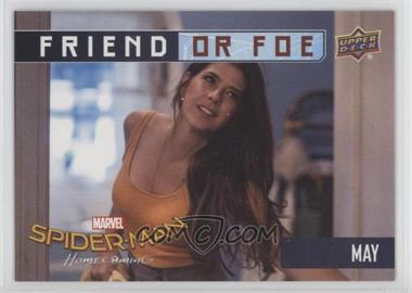 2017 Upper Deck Spider-Man Homecoming - Friend or Foe #FF2 - May Parker