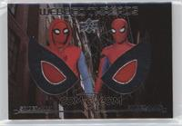 Spider-Man Homemade Suit Hood, Spider-Man Stark Suit Hood