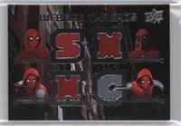 Spider-Man Homemade Suit Hood-Legs-Mask-Torso