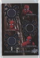 Spider-Man Stark Suit Black Torso-Blue Torso-Legs