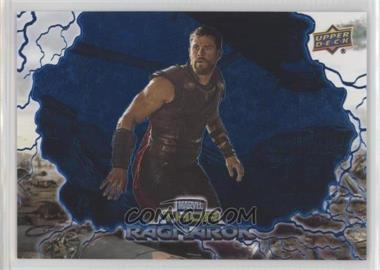 2017 Upper Deck Thor: Ragnarok - [Base] - Blue #35 - Hulk Transforms /199