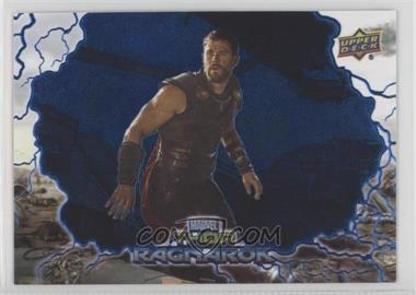 2017 Upper Deck Thor: Ragnarok - [Base] - Blue #35 - Hulk Transforms /199