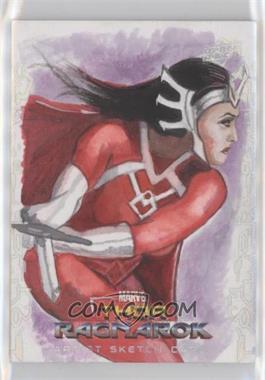 2017 Upper Deck Thor: Ragnarok - Sketch Cards #SKT - Marcia Dye