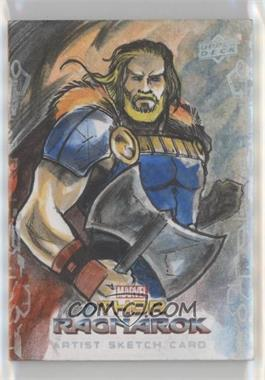 2017 Upper Deck Thor: Ragnarok - Sketch Cards #SKT - Marllon Sheep