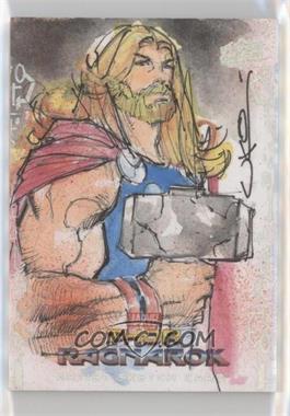 2017 Upper Deck Thor: Ragnarok - Sketch Cards #SKT - Uko Smith