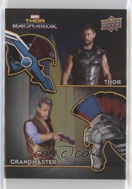 2017 Upper Deck Thor: Ragnarok - The Armory Memorabilia Dual #AD-5 - Thor, Grandmaster