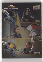 Hela, Valkyrie, Topaz [EX to NM]