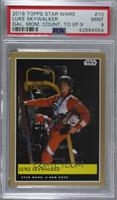 Luke Skywalker [PSA 9 MINT] #/400