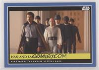 Han and Lando Reunite [EXtoNM] #/430