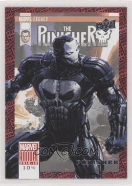 2018-19 Upper Deck Marvel Annual - [Base] #104 - SP - Punisher