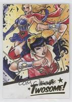Wonder Woman, Supergirl