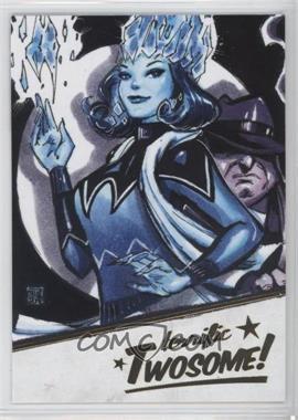 2018 Cryptozoic DC Bombshells Series II - Terrific Twosome! - Gold #T7 - Killer Frost, Penguin