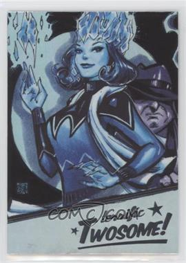 2018 Cryptozoic DC Bombshells Series II - Terrific Twosome! - Rainbow #T7 - Killer Frost, Penguin
