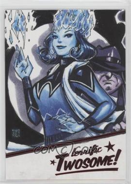 2018 Cryptozoic DC Bombshells Series II - Terrific Twosome! #T7 - Killer Frost, Penguin