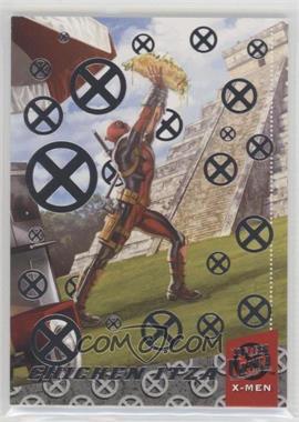 2018 Fleer Ultra X-Men - Deadpool Around the World - Silver #DAW10 - Chichen Itza