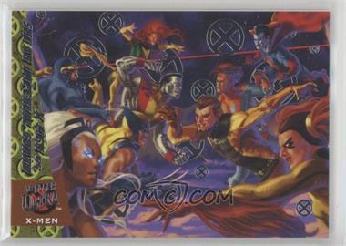 2018 Fleer Ultra X-Men - Greatest Battles - Silver #GB2 - X-Men vs. Shi'ar Imperial Guard