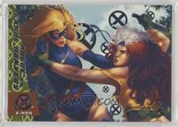 Rogue vs. Carol Danvers