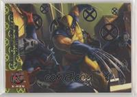 Wolverine vs. Hellfire Soldiers