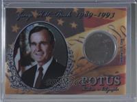 George H.W. Bush [Noted] #/35