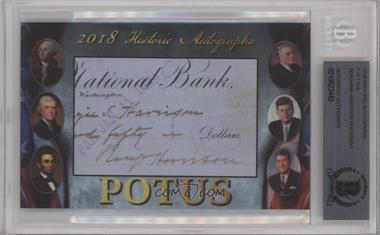 2018 Historic Autographs POTUS Authentic Cut Signatures - [Base] #BEHA - Benjamin Harrison [BASCertifiedEncasedbyBGS]