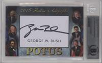 George W. Bush [BAS Certified Encased by BGS]