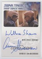 Wallace Shawn as Grand Nagus Zek, Armin Shimerman as Quark