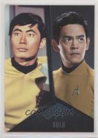 George Takei, John Cho as Sulu