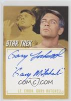Gary Lockwood as Lt. Cmdr. Gary Mitchell