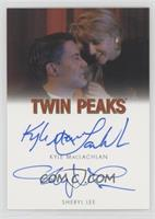 Kyle MacLachlan as Special Agent Dale Cooper as Sheryl Lee as Laura Palmer