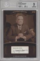 J. Edgar Hoover #/1