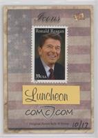 Ronald Reagan (USA 39c Stamp) #/17