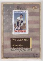 Ted Williams #/7
