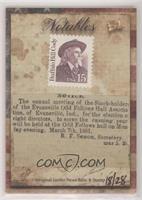Buffalo Bill Cody #/28