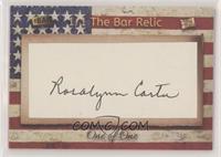 Rosalynn Carter #/1