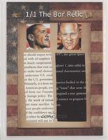 Barack Obama, Buzz Aldrin #/1