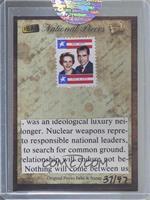 Pat Nixon, Richard Nixon [Uncirculated]