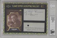 J. Edgar Hoover [BGS Encased]