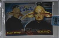 Michaela Cottrell as Even Piell (2001 Star Wars Evolution) [BuyBack] #/39