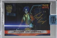 Taylor Gray as Ezra Bridger (2015 Star Wars Rebels) [Buy Back] #/5