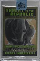 General Grievous (2015 Star Wars Chrome Perspectives Threat to the Republic) /6…