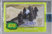 Jumped By Jawas - Rusty Goffe as a Jawa (2015 Topps Journey To Star Wars Force …