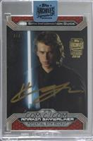 Hayden Christensen as Anakin Skywalker (2015 Topps Star Wars Chrome) /6 [Buy&nb…