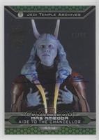 Mas Amedda (15 Topps Star Wars Chrome Perspectives) #/66