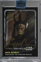 Silas Carson as Nute Gunray (2016 Star Wars Card Trader) /24 [Buy Back]