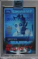 Paul Blake as Greedo (2016 Star Wars Card Trader Bounty) [Buy Back] #/9