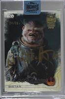 Bistan (2016 Topps Star Wars Rogue One) [BuyBack] #/76