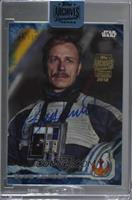 Ben Daniels as Blue Leader (2016 Topps Star Wars Rogue One) [Buy Back] #/15