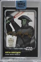 Fifth Brother (2016 Topps Star Wars Card Trader) /22 [Buy Back]